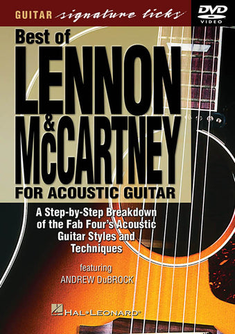Best of Lennon & McCartney for Acoustic Guitar (DVD)