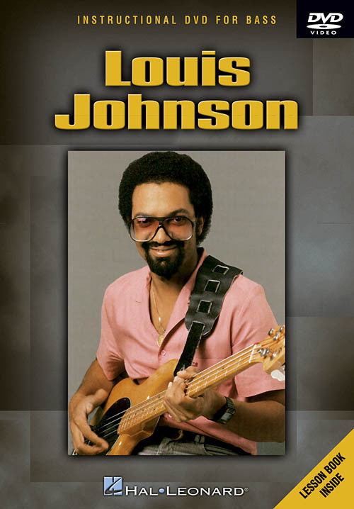 Louis Johnson Instructional Bass DVD