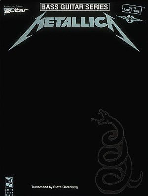 Metallica (Black) for Bass