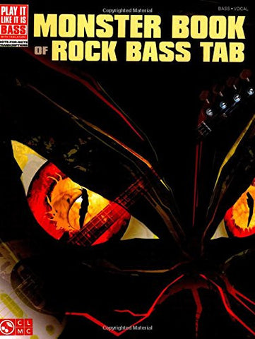 Monster Book of Rock Bass Tab