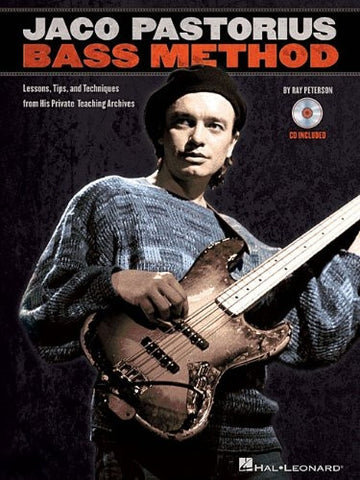 Jaco Pastorius Bass Method Book/Audio)