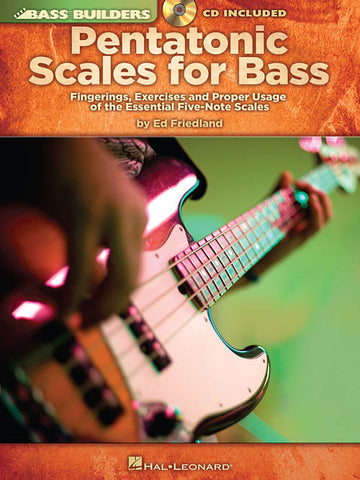 Pentatonic Scales for Bass, by Ed Friedland (Book/Audio)