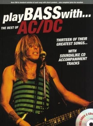 Play Bass with the Best of AC/DC (Book/Audio)
