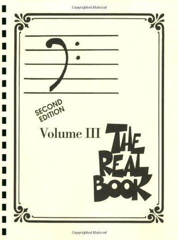 The Real Book – Volume III (Bass Clef Edition)