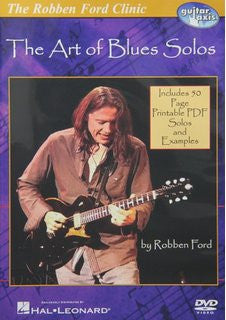 Robben Ford – The Art of Blues Solos (DVD)