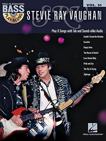 Stevie Ray Vaughan Bass Play-Along (Book/Audio)