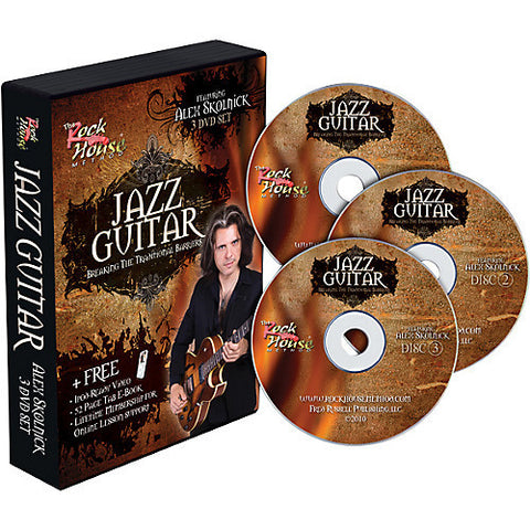 Alex Skolnick of Testament – Jazz Guitar: Breaking the Traditional Barriers (3 DVD set)