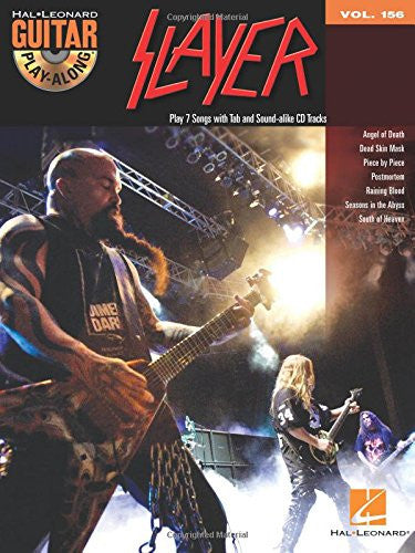 Slayer: Guitar Play-Along (Book/Audio)