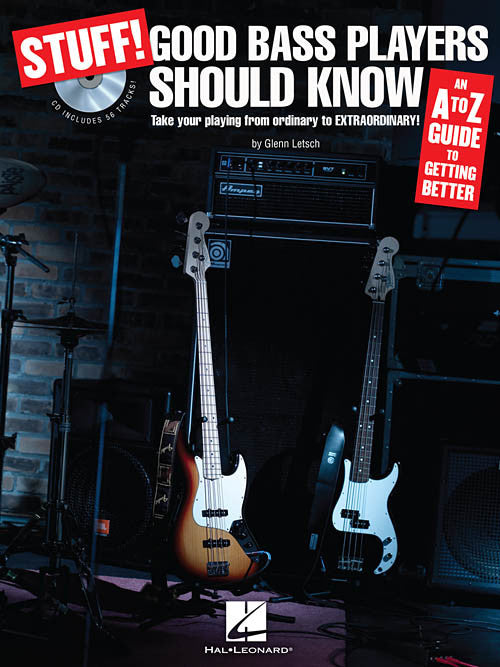 Stuff! Good Bass Players Should Know, by Glenn Letsch (Book/Audio)
