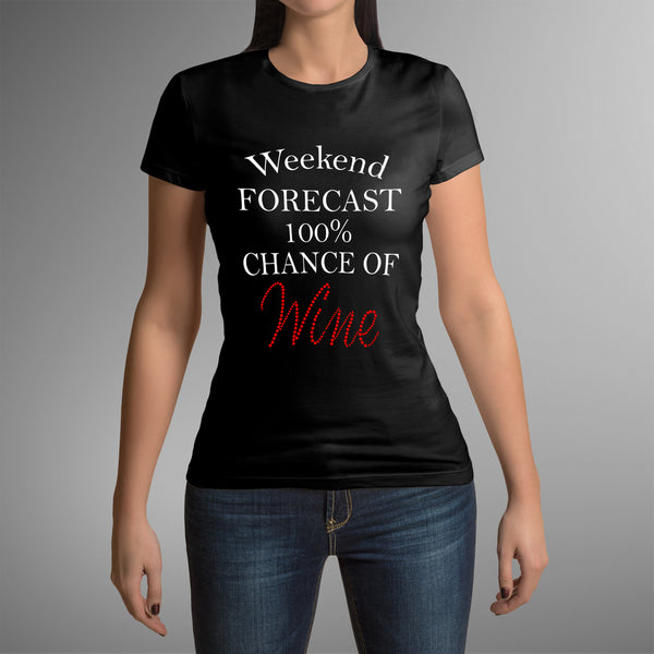 Weekend Forecast 100% Chance of Wine