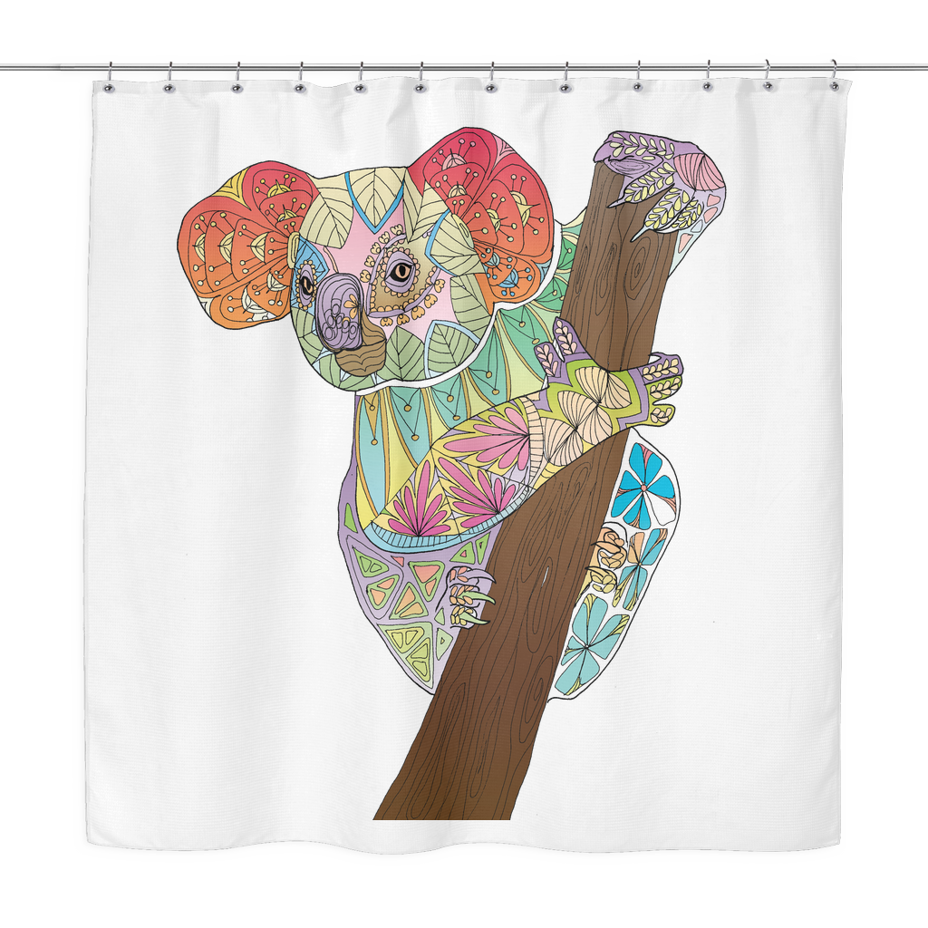 Shower Curtain - Kuala Bear