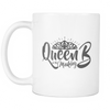 White Mug - Queen B in the Making