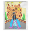 Princess Jalaya's Castle Fleece Blanket
