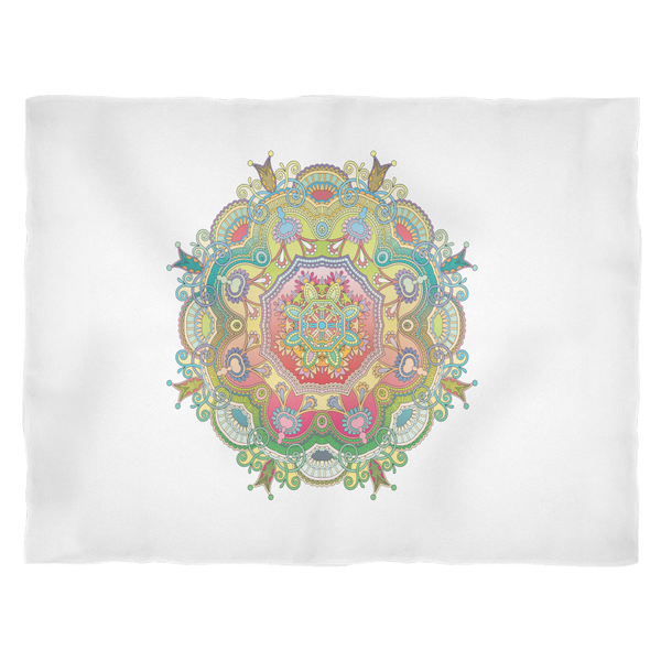 Fleece Blanket - Mandala 1