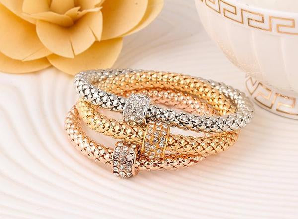 Glam Trio Bracelets - Rings