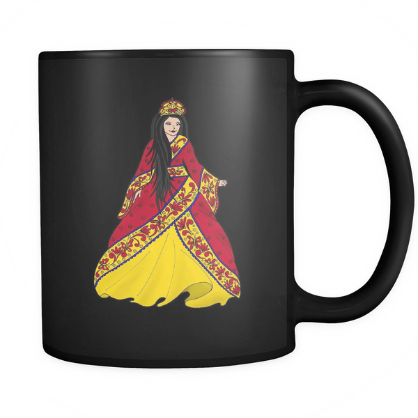 Princess Lea - Black Mug