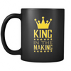 Black Mug - King in the Making