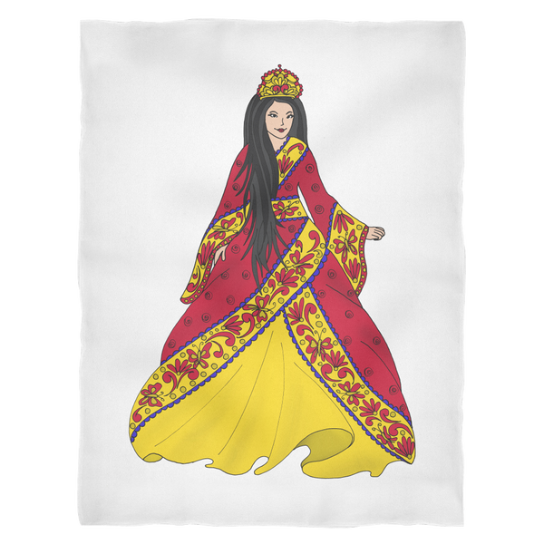 Princess Lea Fleece Blanket