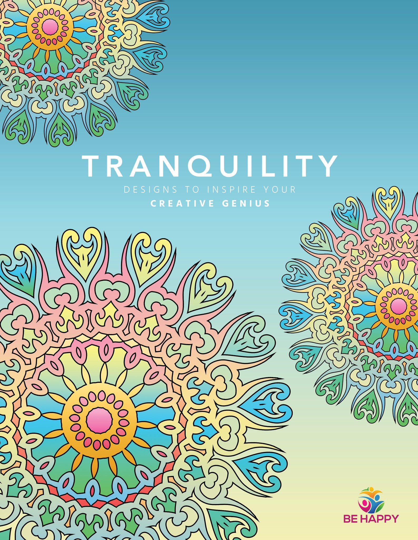 The coloring book genius - Tranquility Designs To Inspire Your Creative Genius