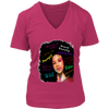 FEARLESS Empowerment Women V-Neck Design 04