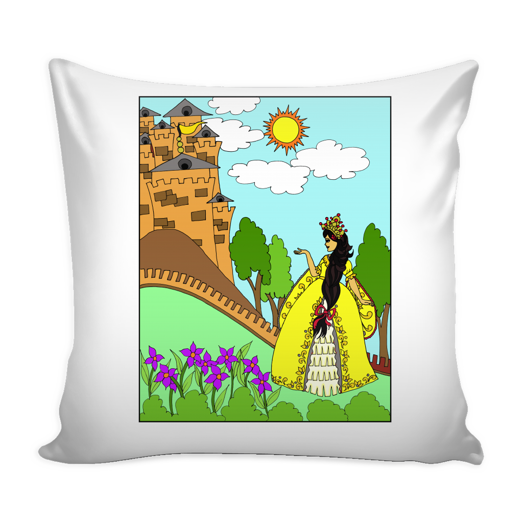 Princess Sofia's Castle Pillow Cover