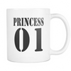 White Mug - Princess 01