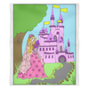 Princess Amber's Castle Fleece Blanket