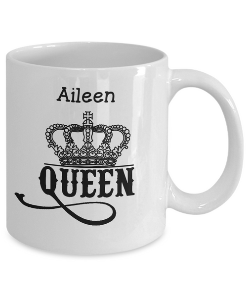 Personalized White Mug - Queen