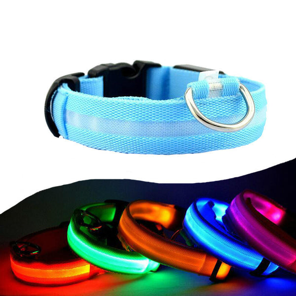LED Glow in the Dark Dog Collars