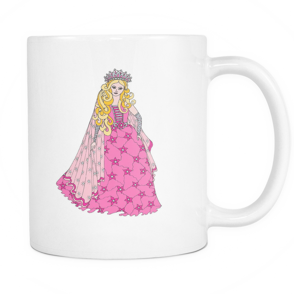 Princess Amber - White Mug