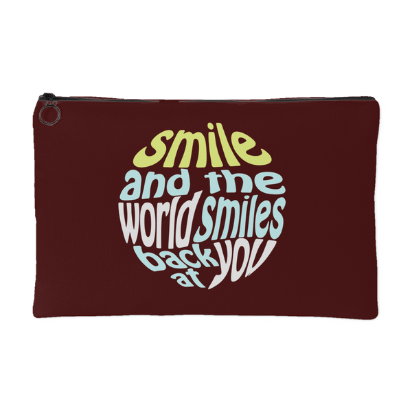 Accessory Pouch - Smile and the world smiles back at you
