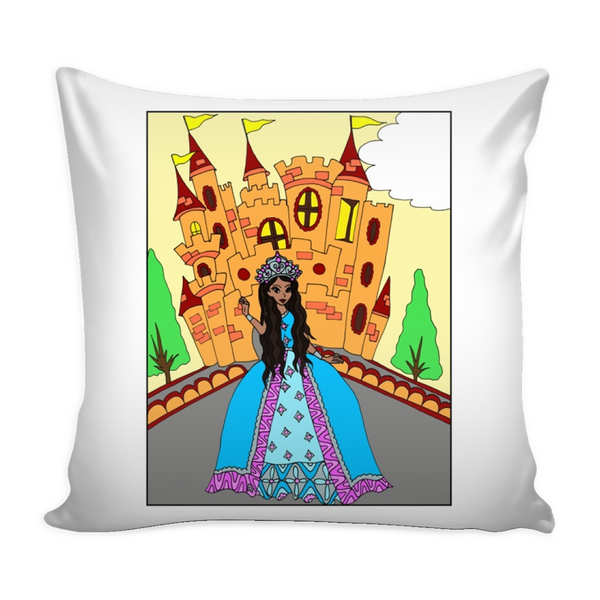 Pillow Cover - African American Princess