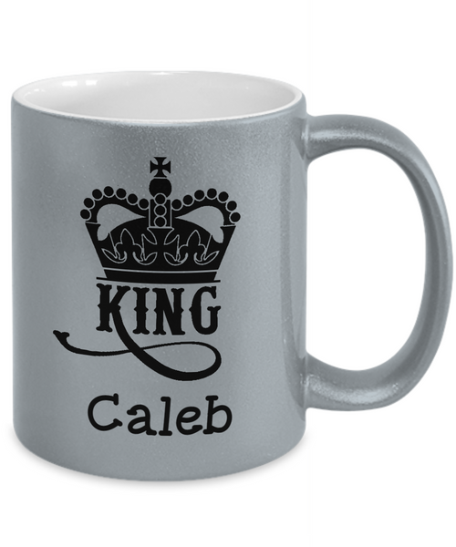 Personalized Metalic Mug - King