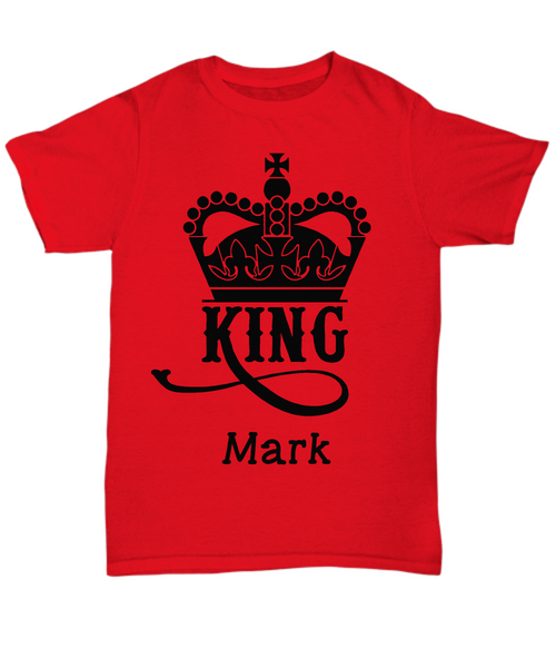 Personalized Unisex Tee - King
