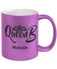 Personalized Metalic Mug - Queen B