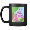 Princess Amber's Castle - Black Mug