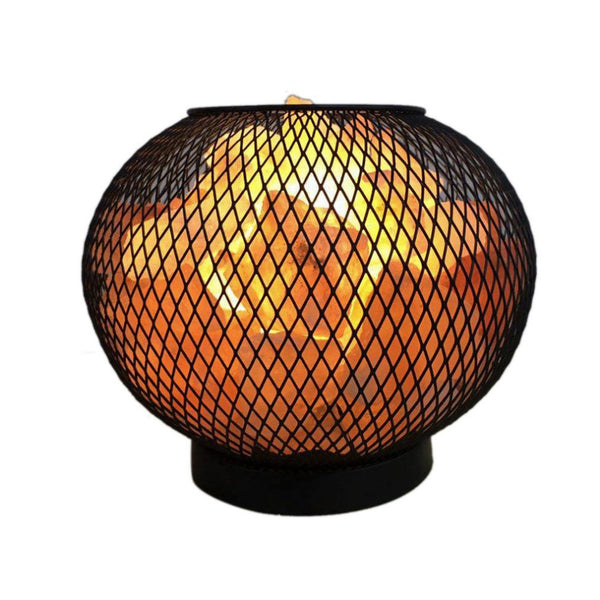 Himalayan Salt Lamp LED Bedroom Night Light Air Purifier