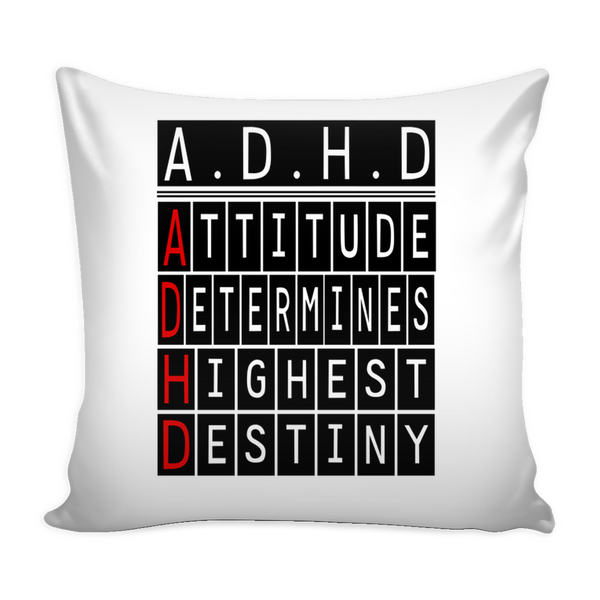 Pillow Cover - A.D.H.D.