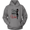 Unisex Hoodie - Girls Just Want to Have Wine
