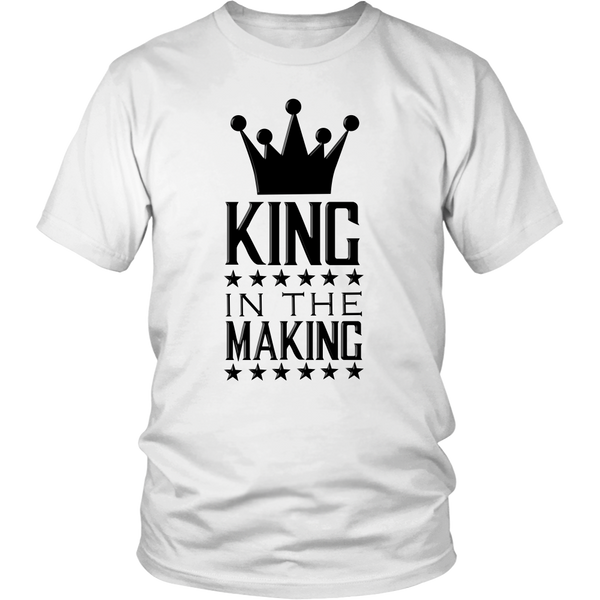 Heavyweight Unisex Shirt - King in the making