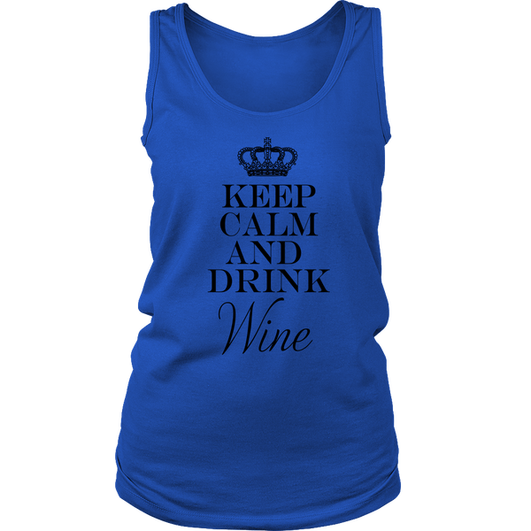 Women Tank - Keep Calm and Drink Wine