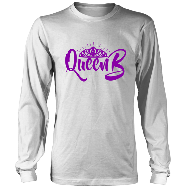 Long Sleeve Shirt - Queen B in the Making Purple