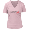 Womens V-Neck - Just Do It