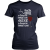 Womens Shirt - Coffee and Wine 02