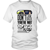 Heavyweight Unisex Shirt - Don't Look Back