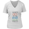 Womens V-Neck - Grow Thru it