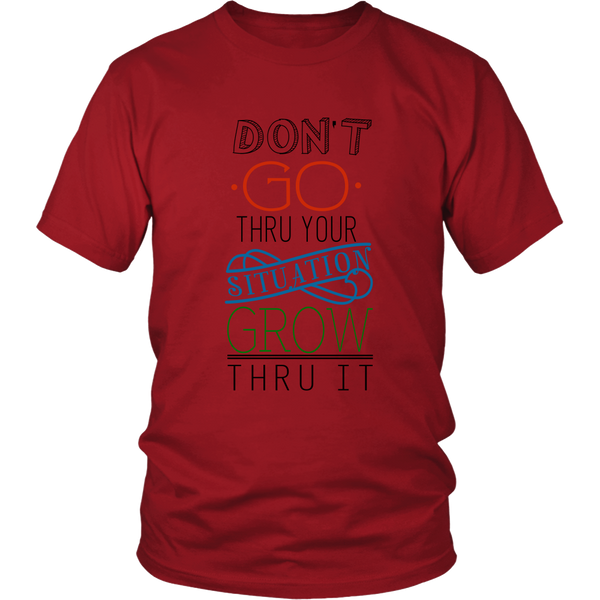 Heavyweight Unisex Shirt - Don't go through