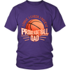 Heavyweight Unisex Shirt - Proud Basketball Dad