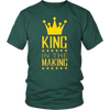 Heavyweight Unisex Shirt - King in the Making Yellow