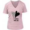 Womens V-Neck - Follow your Heart 2